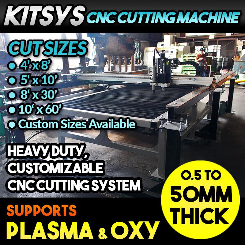 KITSYS CNC Heavy Duty Cutting Machine