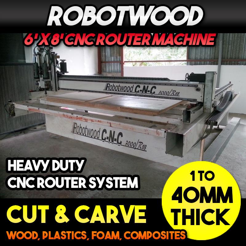 RobotWood Heavy Duty CNC Router Machine