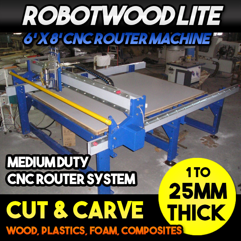Robotwood Lite Medium Grade CNC Router Machine