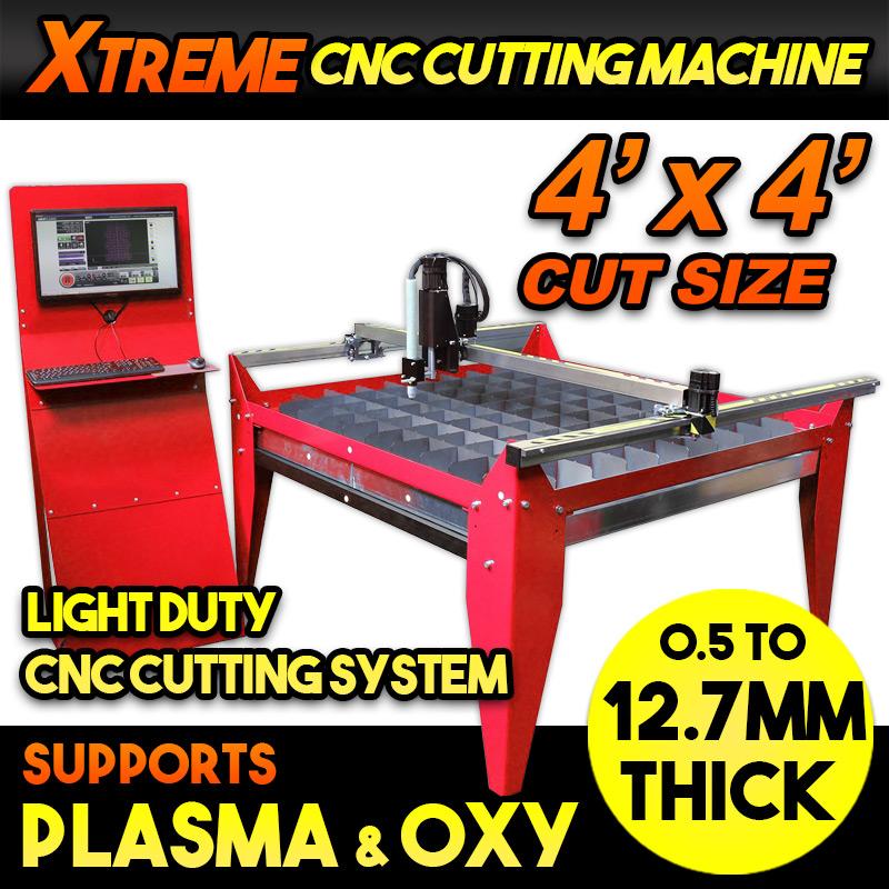 Xtreme 4x4 CNC Cutting Machine
